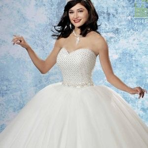 1eb6e820120 Mary s Bridal Dresses - Marys Bridal 2B795 Informal Ball Gown with Bolero